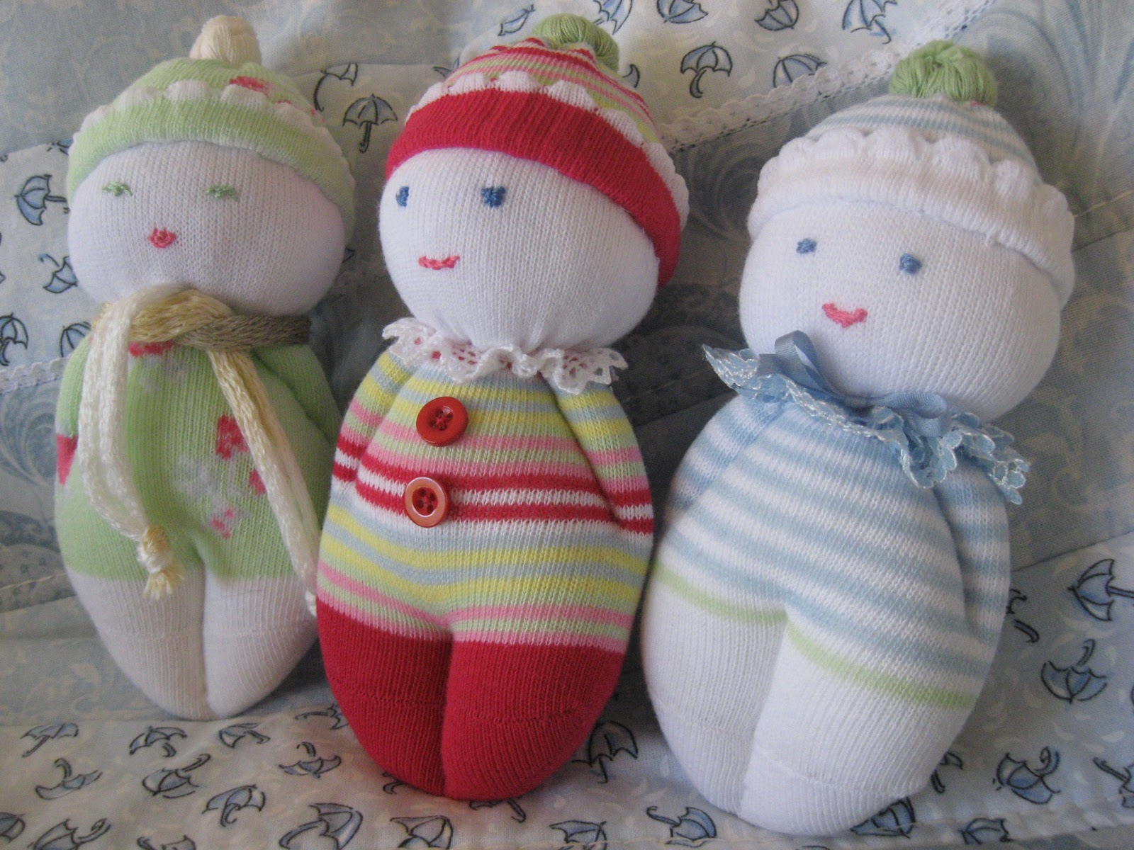 Gee s Projects Sock Babies