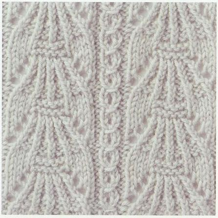 NO STITCH IN KNITTING CHART Free Knitting Projects