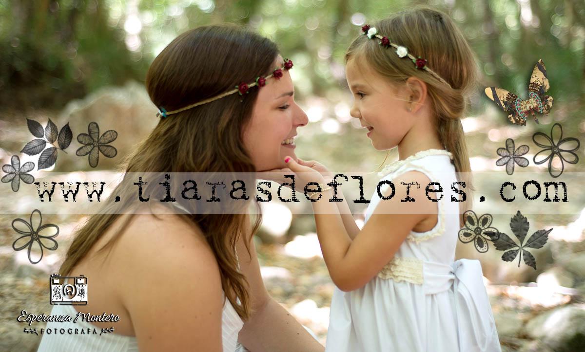 Coronas y tiaras de flores