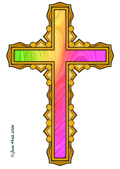 artbyjean easter clip art four rainbow colored crosses on easter rh abj eggs blogspot com crosses clip art images free crosses clipart with vines