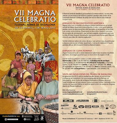 La Magna Celebratio de Badalona: página web y noticias