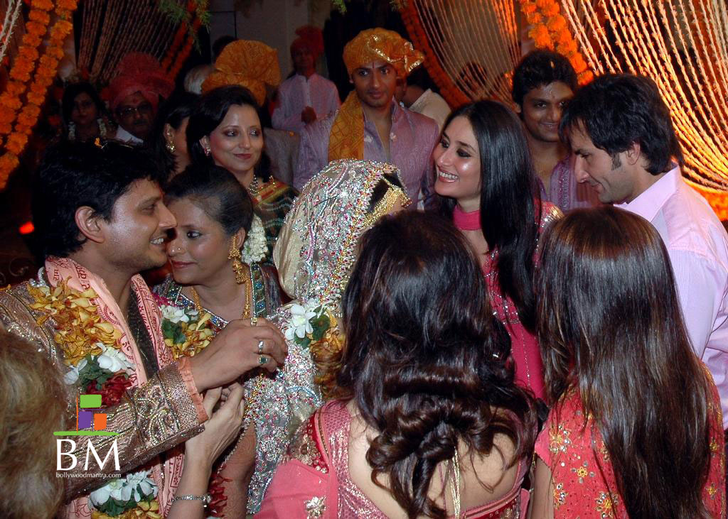 saif ali khan and kareena kapoor wedding pics latest news