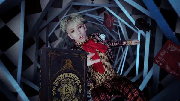 Boyfriend's Minwoo in Bounce MV