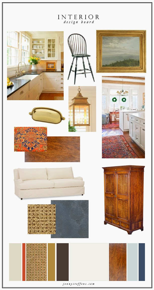 Jenny Steffens Hobick Interior Design Board Our New
