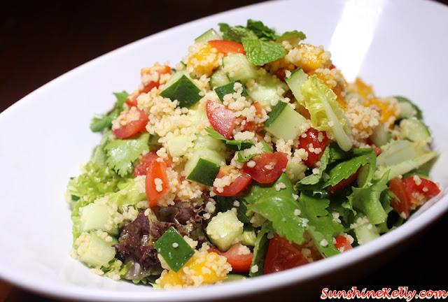 Mango, Couscous, Cilantro Salad, La Casa, Verve Suites, Mont Kiara,