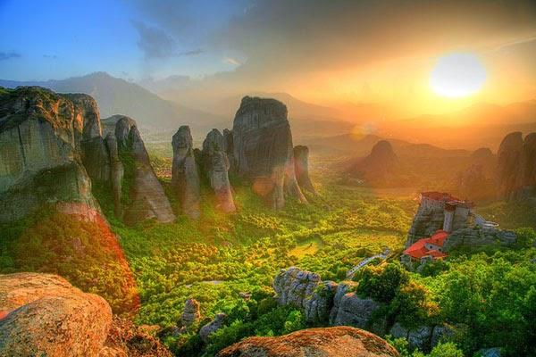 Meteora - Yunani