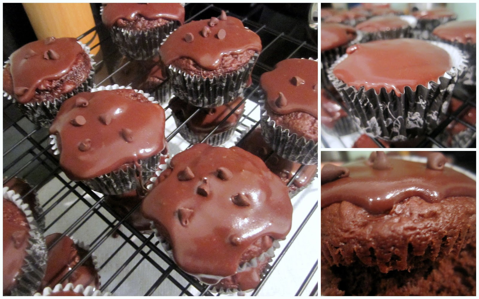 Sophie in the Kitchen: Double Chocolate Cupcakes