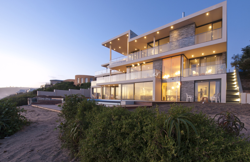 South Africa Luxury Contemporary Mansion Villa By The Waterfront
