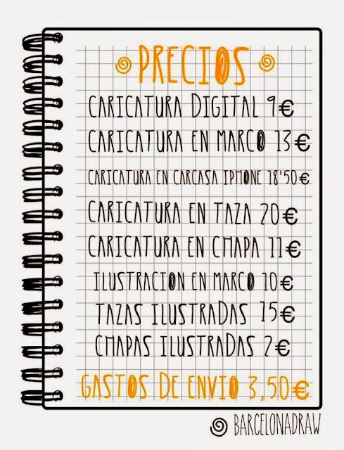 Precios BarcelonaDraw