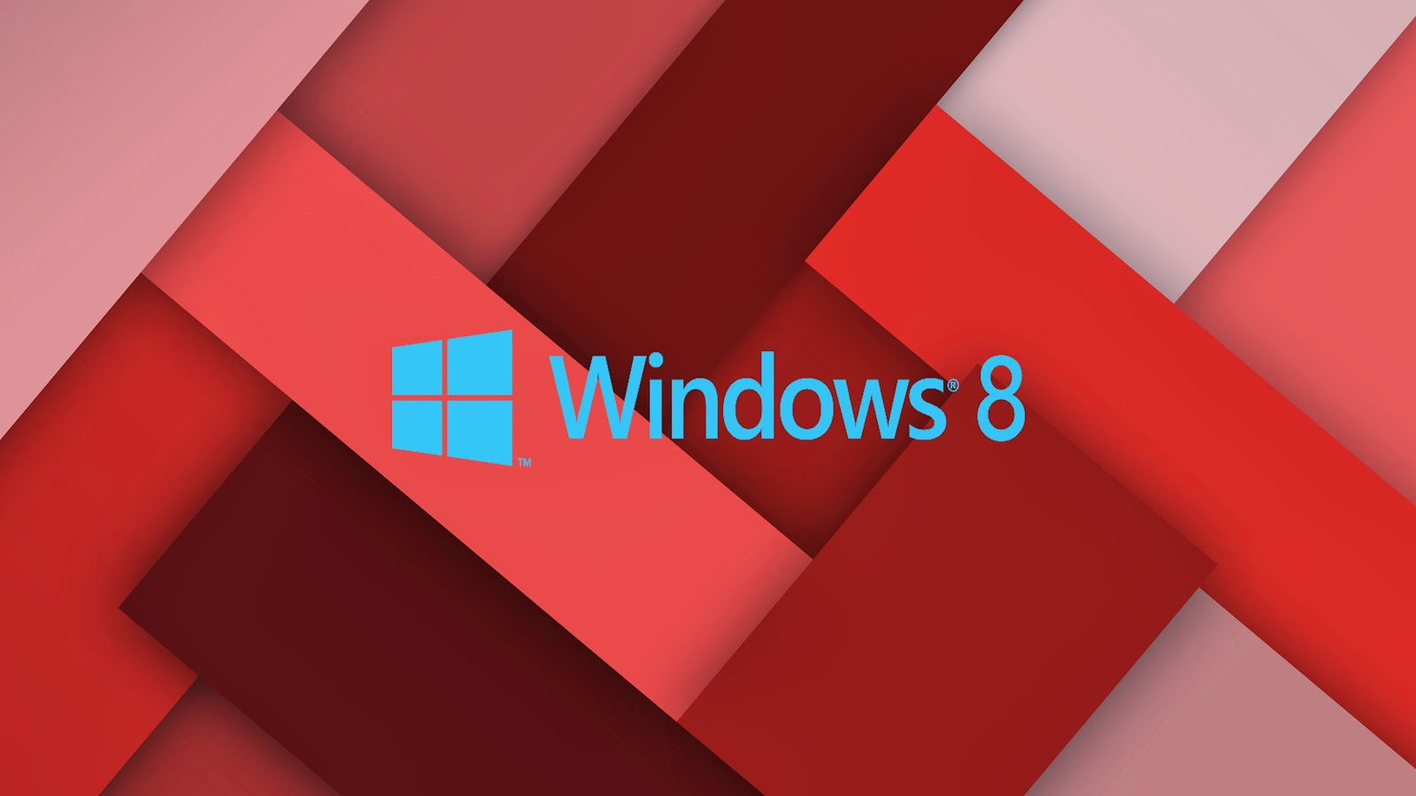 Roten Windows 8 wallpaper