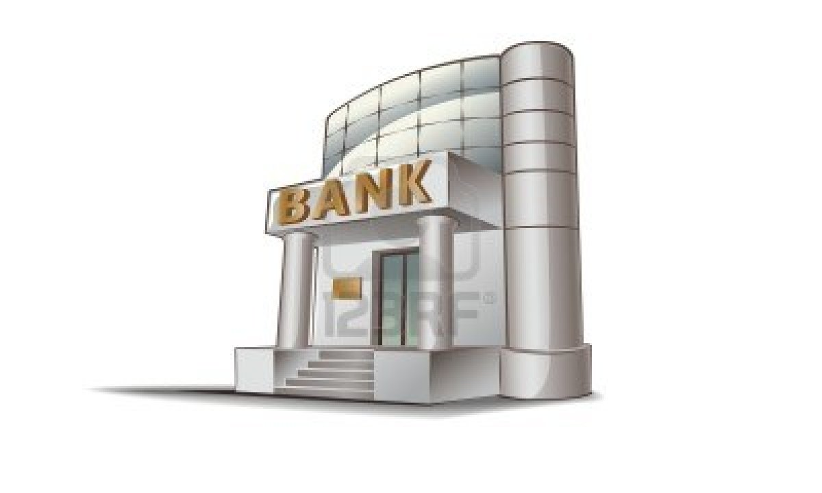 Bank Building Clipart