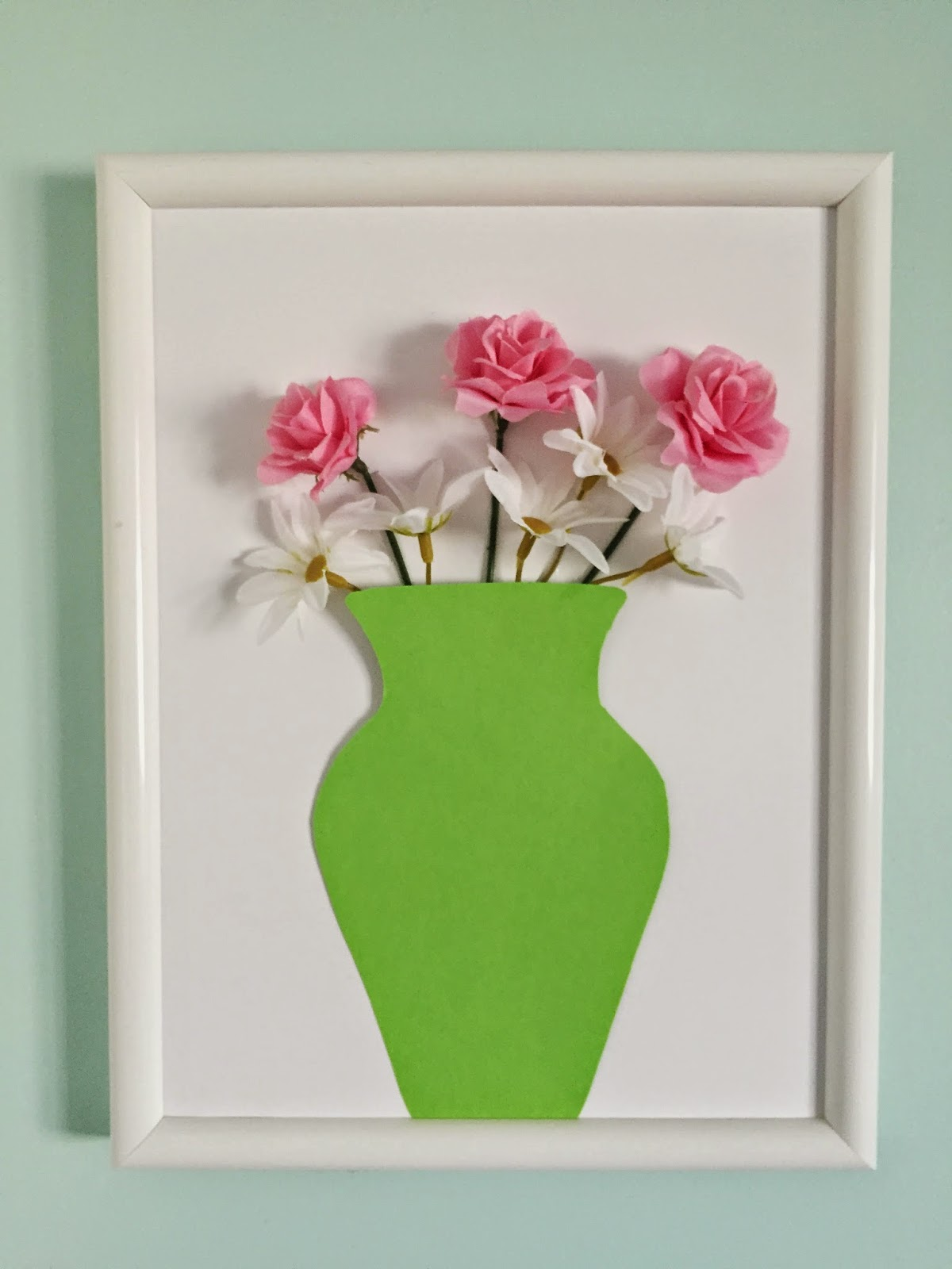 Diy Spring Wall Decor : Diy d spring wall decor the monogrammed life