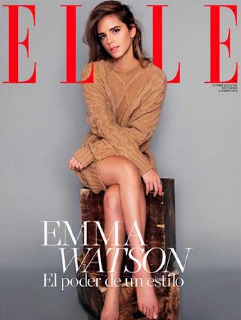Actress, Model @ Emma Watson - Elle Spain, October 2015