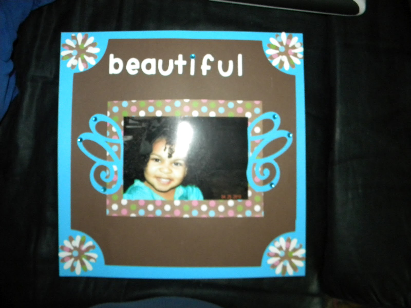 Scrapbook ideas about friends - This Is One Of My Fav Scrapbook Pages Because Its So Simple But Really Cute I Used A Regular 12x12 Brown Scrapbook Paper Then I Also Used A Piece Of