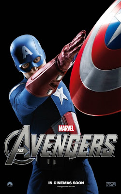 The Avengers Character One Sheet Movie Poster Set 2 - Chris Evans as Captain America