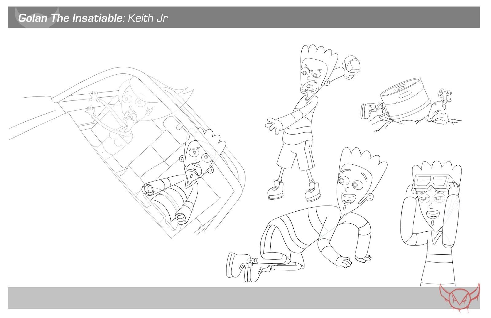 Character Design Layout : Jenna howard online portfolio