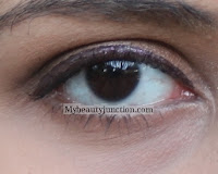 Basic smoky eye makeup with Urban Decay Smog and Darkhorse shadows
