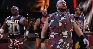 WWE ECW Dudleyz Bubba Rhino Tommy Dreamer TLC