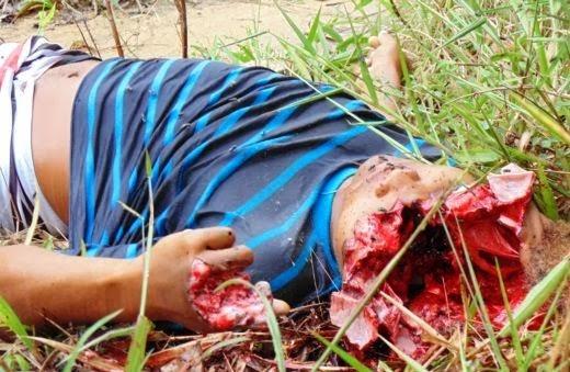 Menor executado com tiro de 12 na cabeça