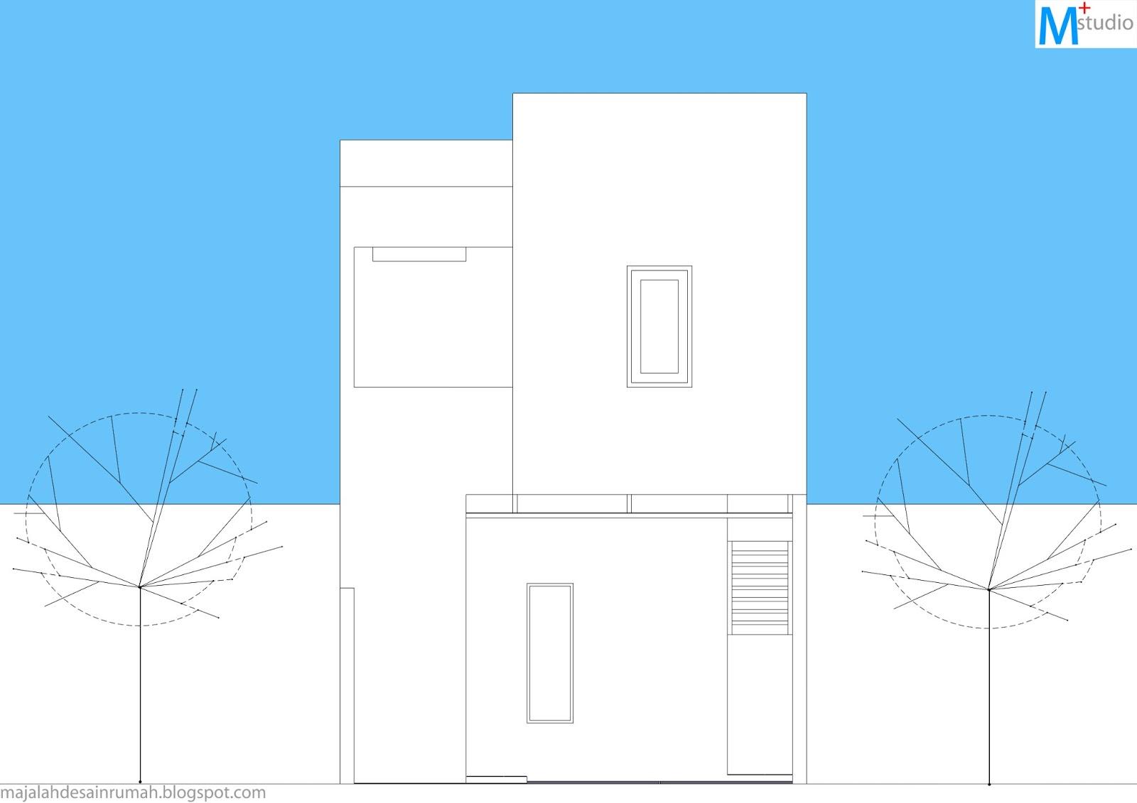 desain rumah tipe 65