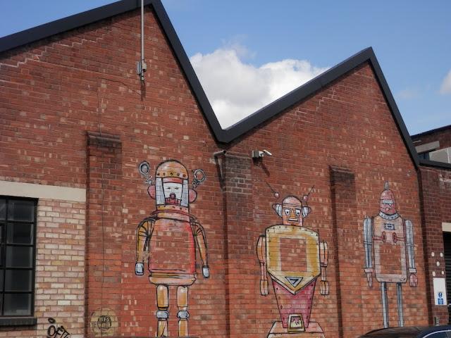 Street Art and Graffiti, Digbeth, Birmingham.  secondhandsusie.blogspot.co.uk