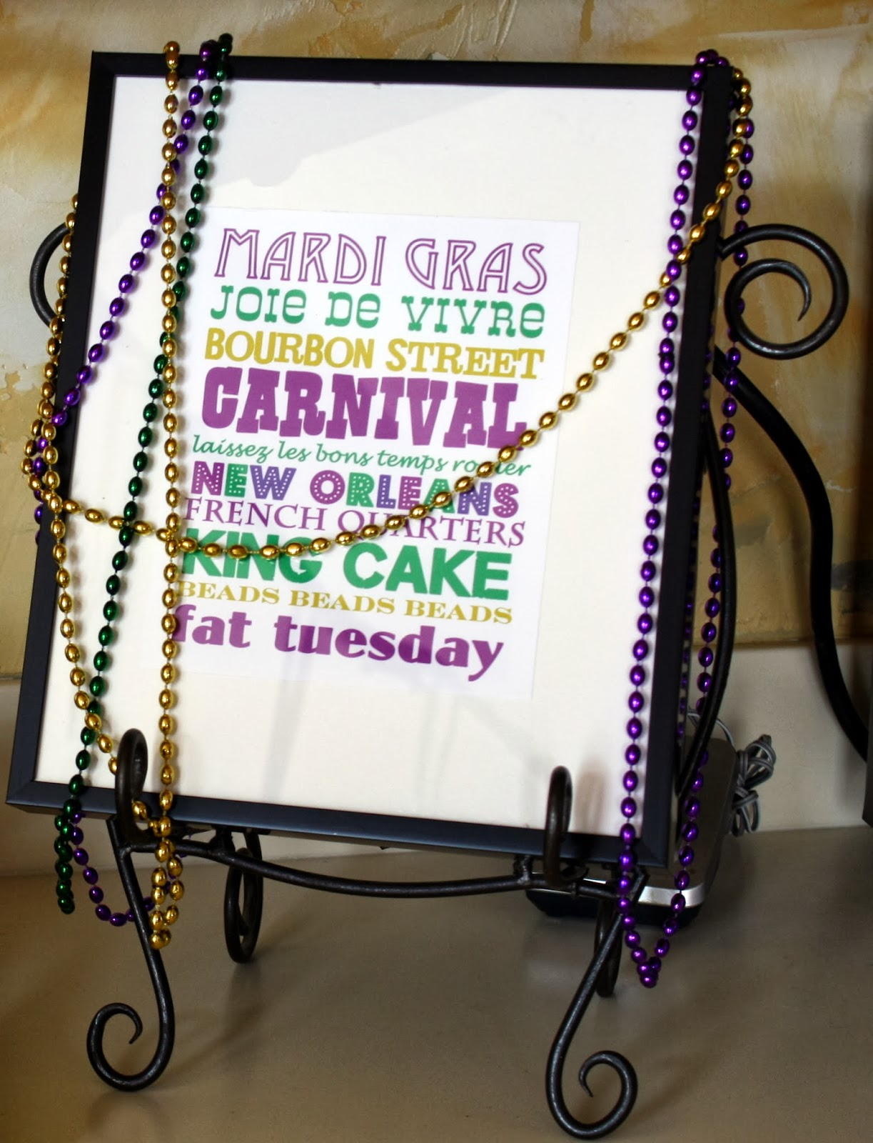 Teen Mardi Gras Birthday Party