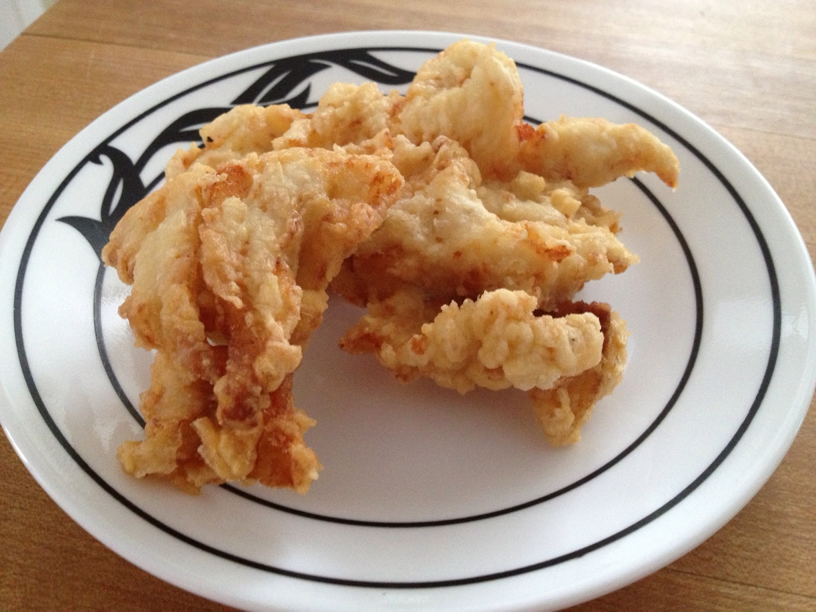 Little oak creations deep fried pike for Deep fry fish batter