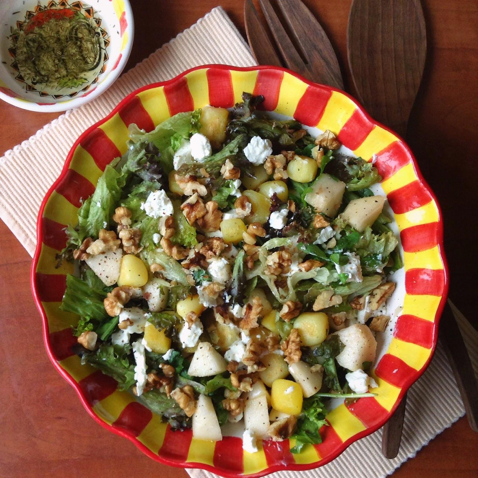 Vega met kinderen: Nog een heerlijke salade met …