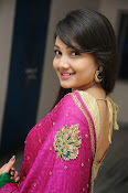 Priyanka Gorgeous Photos in Saree-thumbnail-12