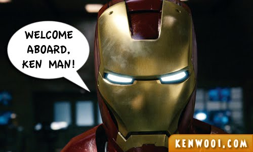 iron man welcome