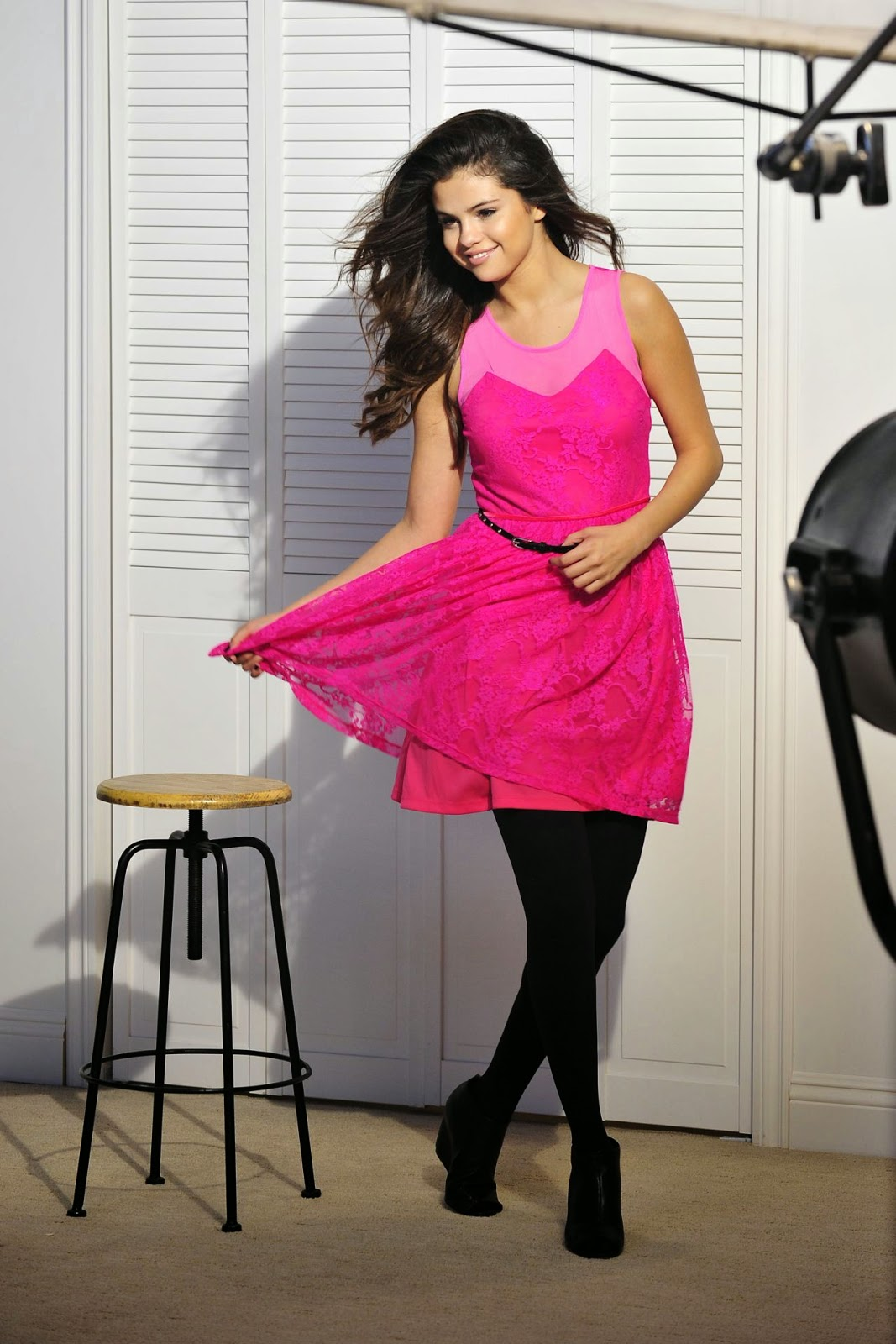 Selena Gomez poses for the 'Dream Out Loud' Fall 2014 Campaign