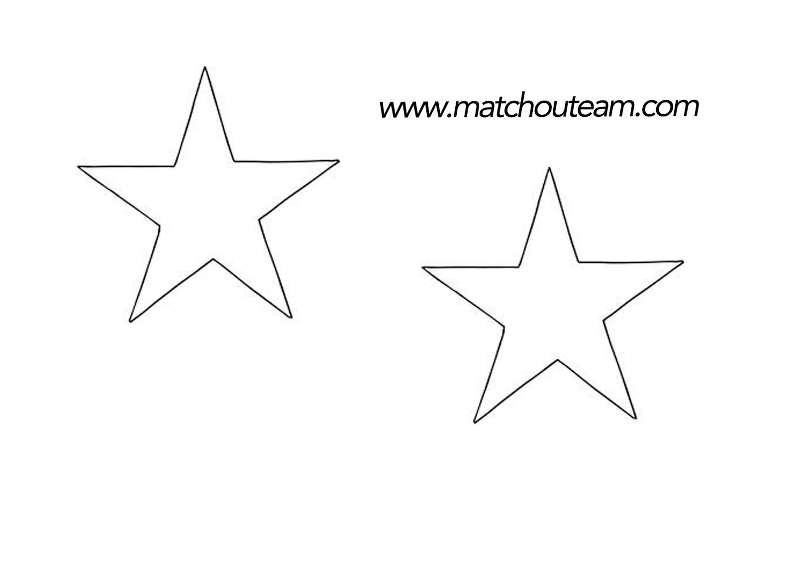 gabarit étoile