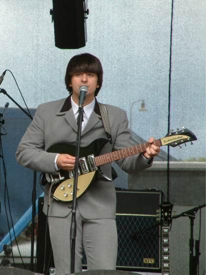 John Lennon's Guitar 1958 Rickenbacker 325