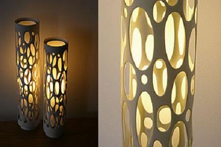 10 ideas para reciclar tubos de pvc for Utilisima espejos decorados