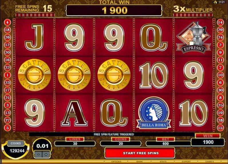 free multi line video poker slots