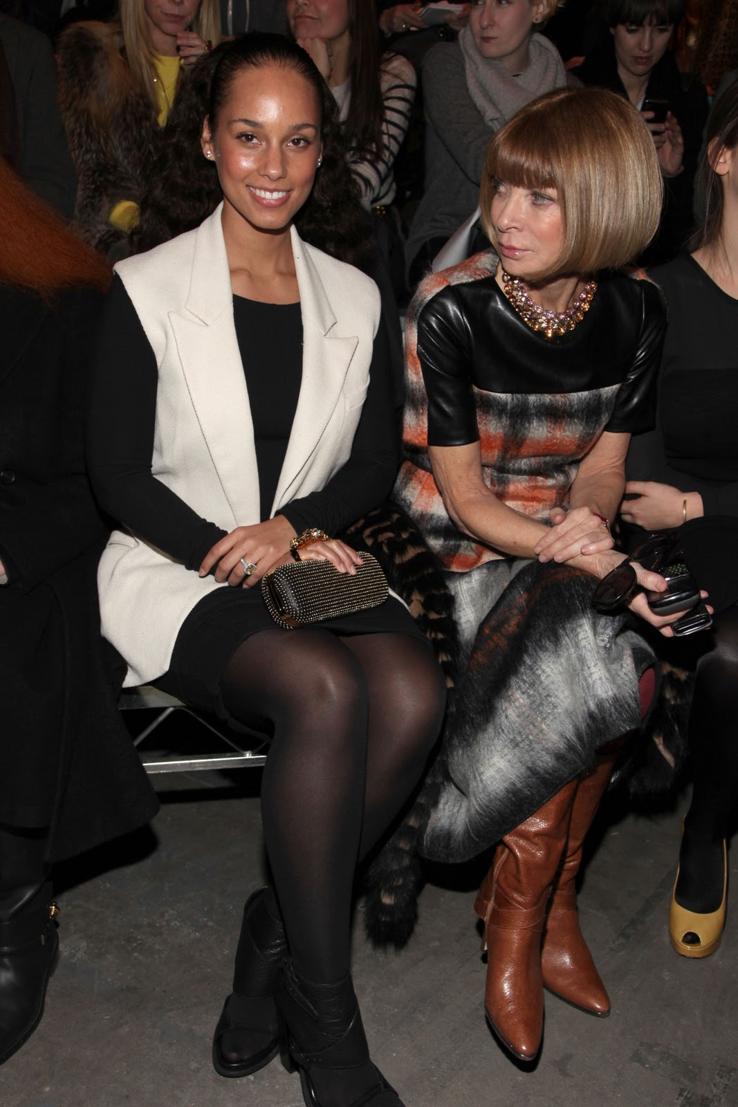 InsiderStyle Anna Wintours NYFW Fall 2011 Style