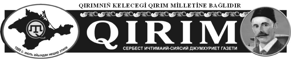 """""""Qırım"""" gazetası"""