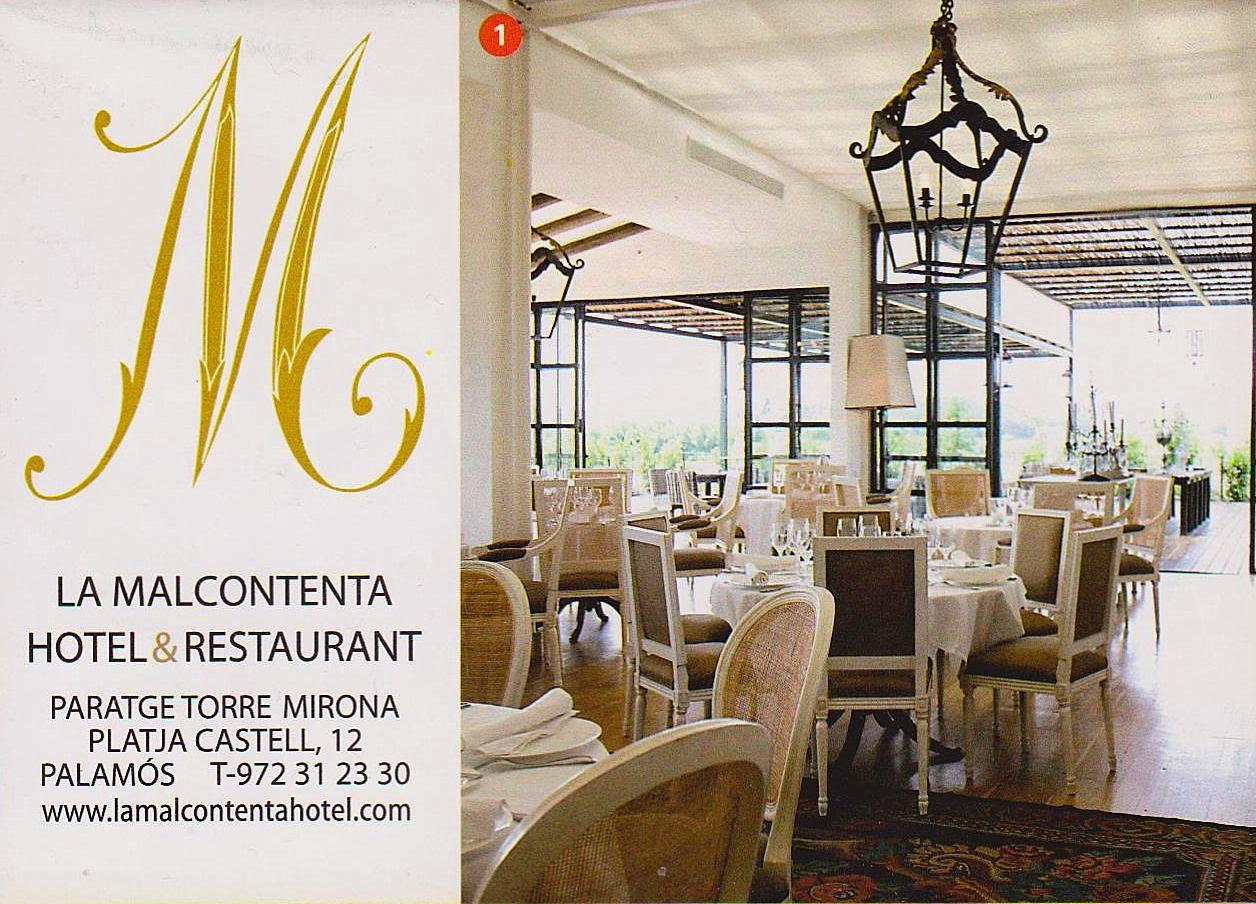 The traveler 39 s drawer la malcontenta hotel restaurant - Hotel la malcontenta palamos ...
