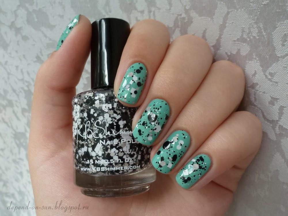 KBShimmer Grayscale & Nails inc. Haymarket