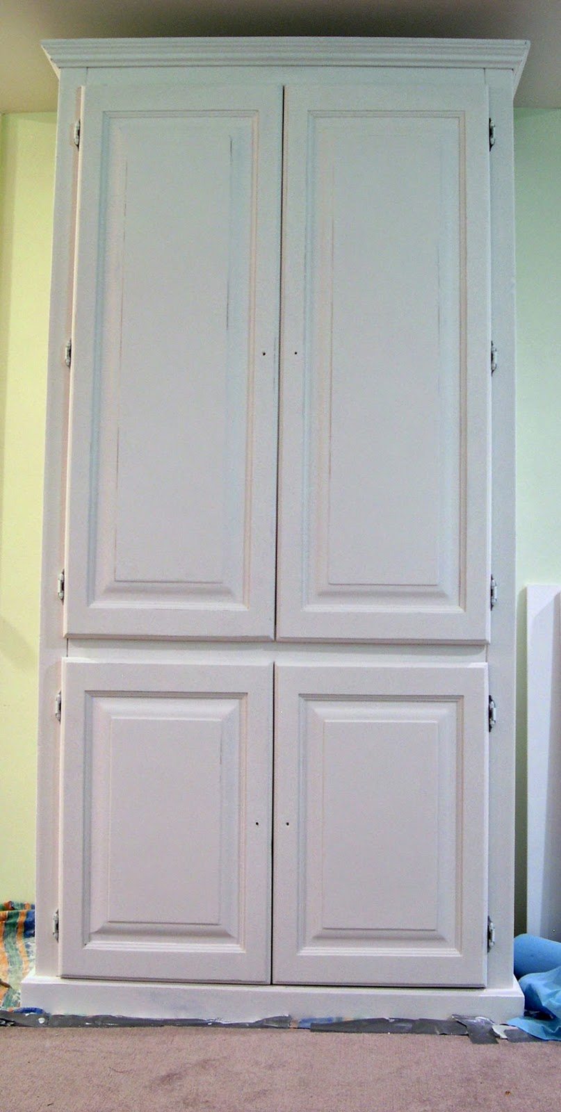 how to add doors to a bookcase
