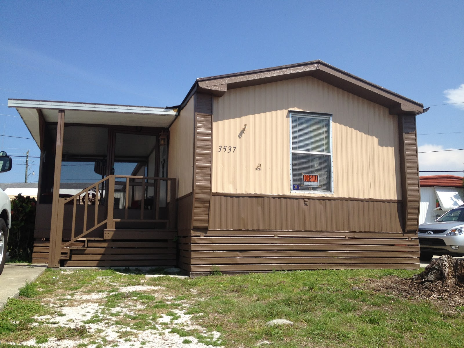 trail villa sold 2 bedroom 1 bath mobile home for sale 8 000