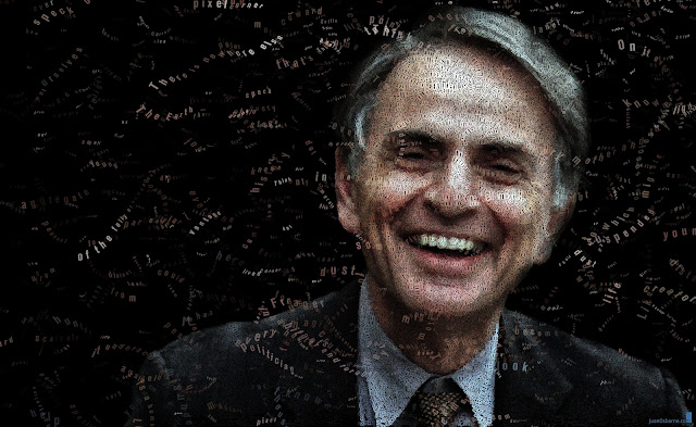Carl Sagan by Juan Osborne