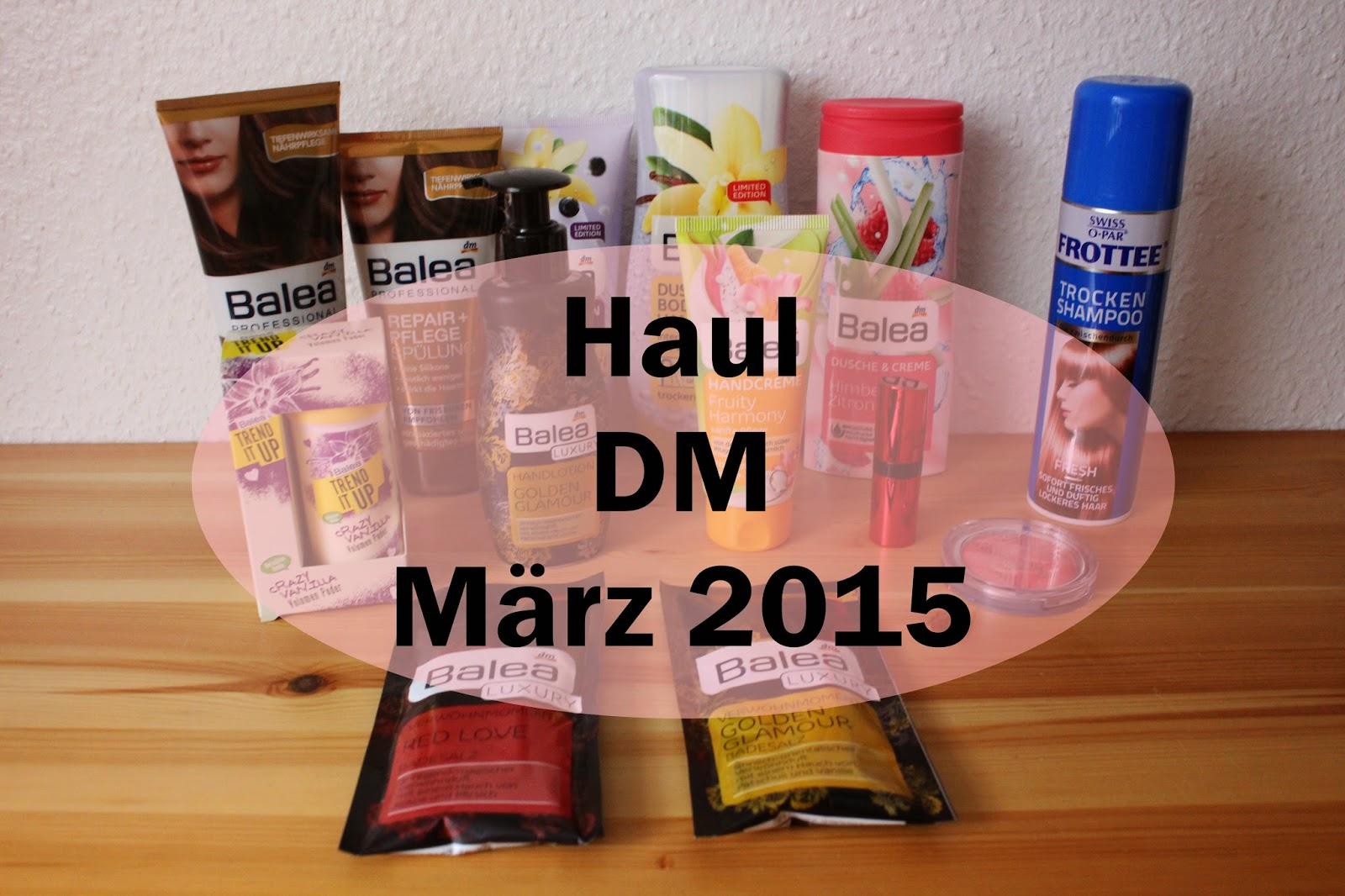 DM Haul März 2015