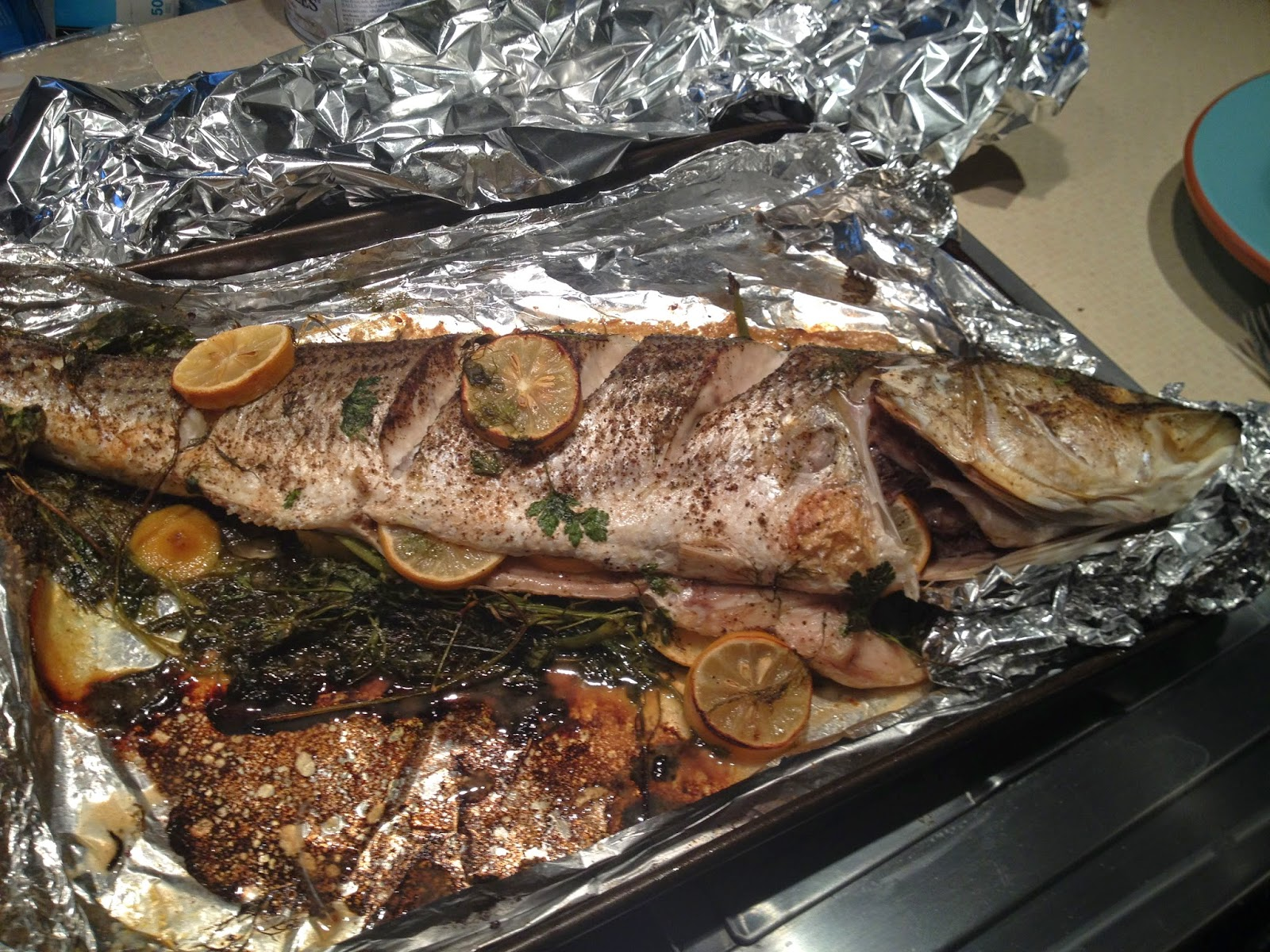 corcoran street kitchen whole oven roasted rockfish