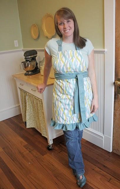 Sturdy apron pattern
