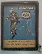 Jam Dinding Kopassus Rp290.000