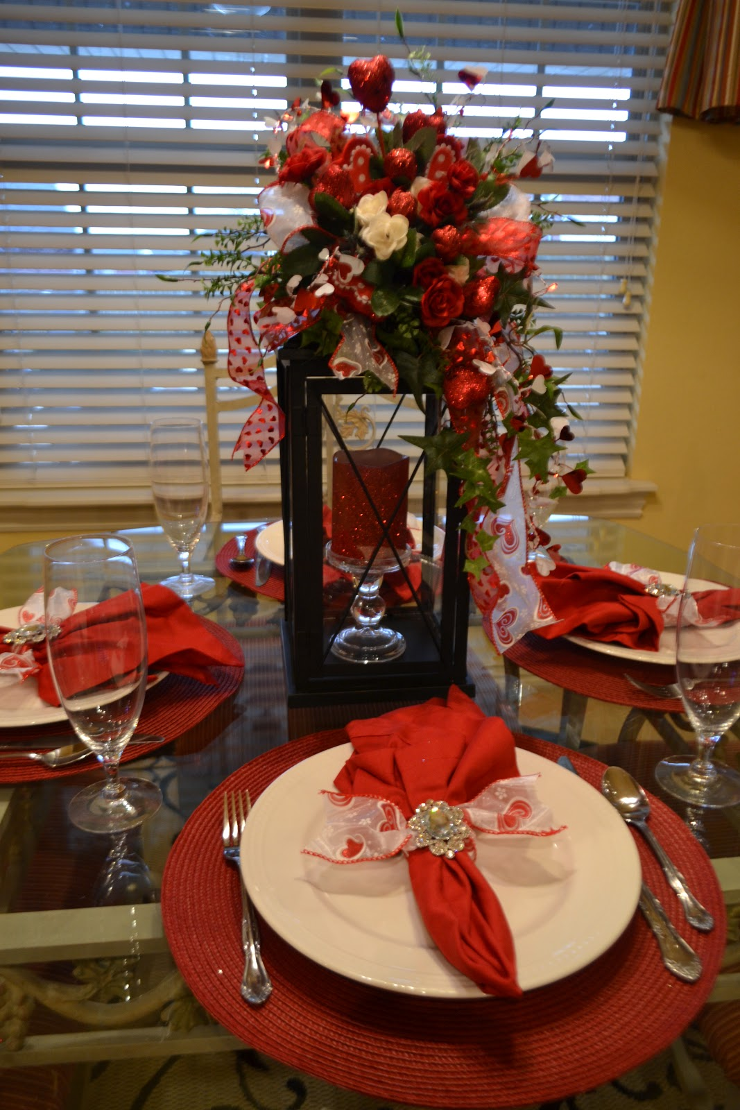 Kristen s creations a little valentine decorating