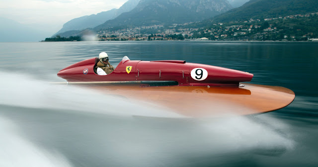 Timossi-Ferrari Racing Hydroplane (1953)
