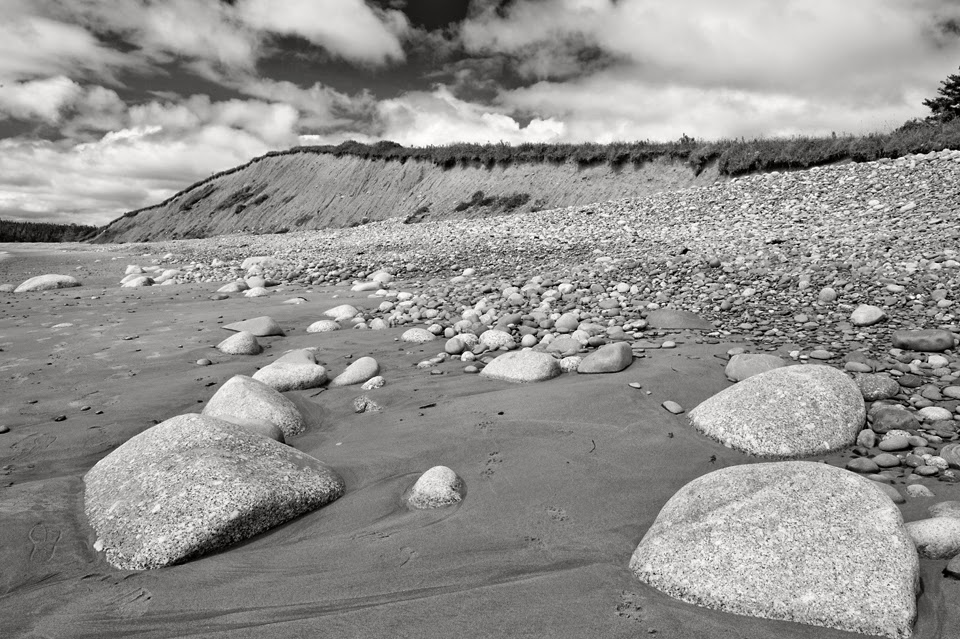 Nova Scotia; Hirtle's Beach; Drumlin Cliffs