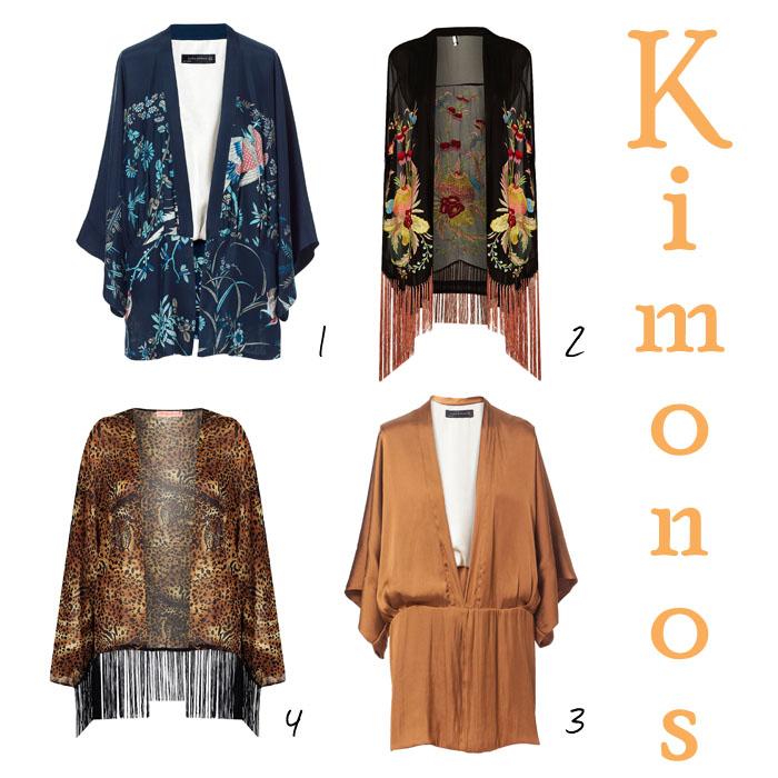 kimonos flecos